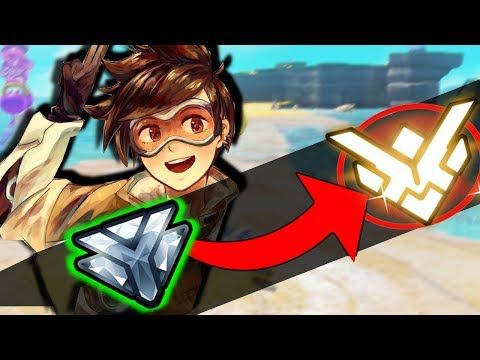 SUREFOUR - GRANDMASTER TRACER GAMEPLAY TIPS | How To Improve As Tracer Guide - Overwatch Season 7