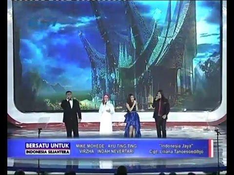 """Mike Mohede - Ayu Ting Ting - Virzha - Indah Nevertari  """"Indonesia Jaya"""" @ BUIS RCTI"""