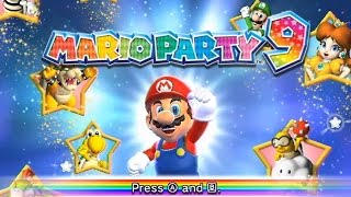 Mario Party 9 - All Boards (Solo Mode)