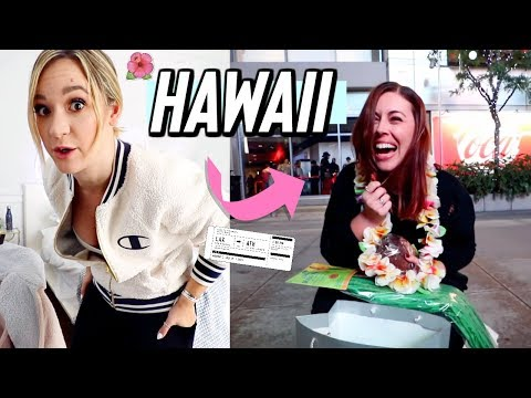 Download surprising best friend w/ tickets to hawaii for christmas!! vlogmas day 22 Mp4 baru