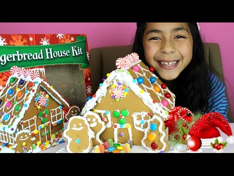 Christmas Gingerbread House| Christmas 2014|B2cutecupcakes