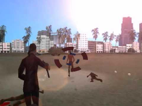 GTA Vice City - Mona Sax In Red Coat - Max Payne 2 - By orel014