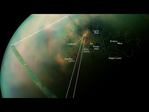 Загадочный остров на Титане [Аппарат Кассини]