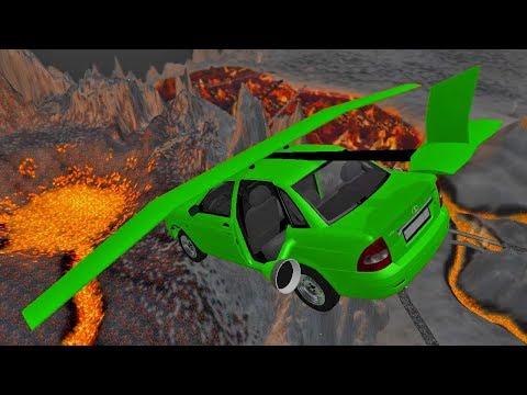 Мультики Машинки ПРЫГАЮТ через ВУЛКАН 2017 для детей Крутые тачки и гонки машины Мультфильмы