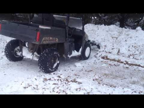 Polaris Ranger Midsize 800 Custom Snow Plow Mount Project