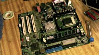 Repairing a motherboard
