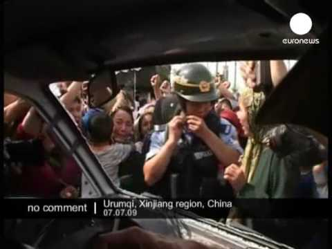 China Urumqi protests