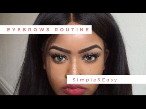 Eyebrow routine-How to slay your brows - 동영상