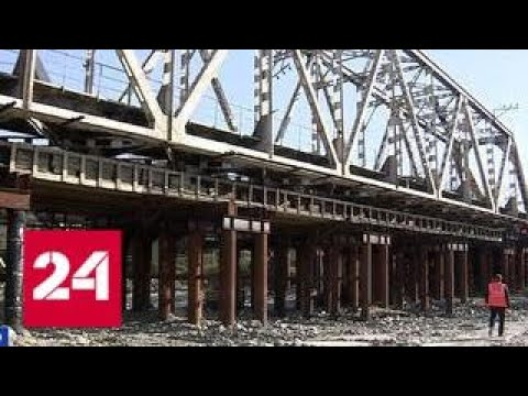 В Сочи строители железнодорожного моста готовятся встретить под ним первый поезд - Россия 24