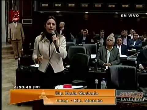 Intervención María Corina Machado Asamblea Nacional 22-01-2013