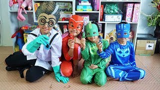 Giới Thiệu Trang Phục PJ Masks Cho Trẻ Em Và Đồ Chơi Siêu Nhân Anh Hùng