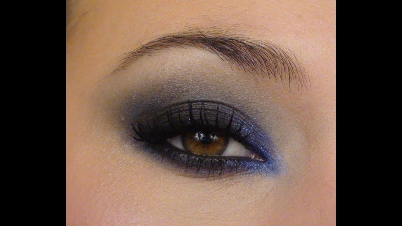 bleu mat clatant tutoriel maquillage combinaison de fards mats et iris s youtube. Black Bedroom Furniture Sets. Home Design Ideas