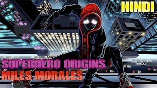 Superhero Origin - Miles Morales   Hindi   Spiderman Into The Spiderverse
