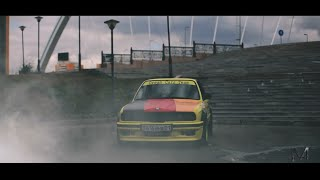 Тест-драйв BMW e30 V8 [MarselProductions]