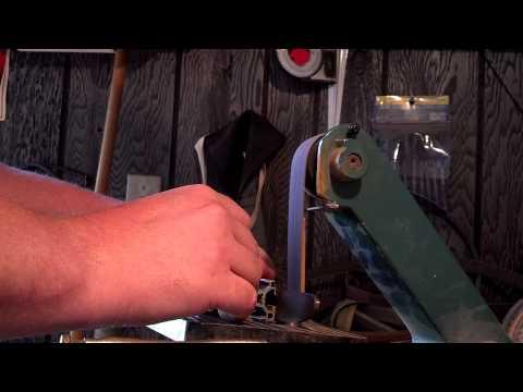 1x30 belt sander knife grinder mods (Explained)