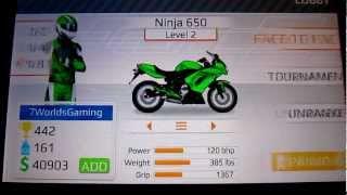 Drag Racing Bike Edition: How To Tune A Level 2 Ninja 650 5.933s 1/8mile!