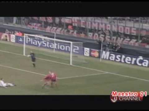 Highlights AC Milan 1-0 Lokomotiv Moscow - 19/2/2003
