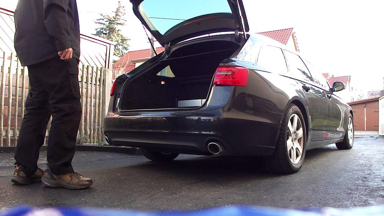 Audi A6 C7 Avant Gestengesteuerte Heckklappe Youtube