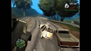 GTA San Andreas-Loquendo CJ se muda a Grove Streeet 1/2