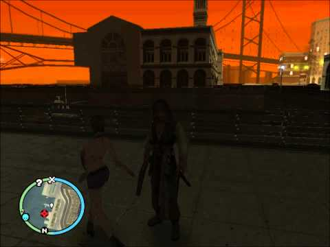 Gta Sa Pirates Of The Caribbean Mod video