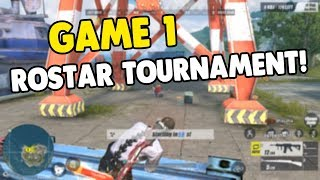 """GAME 1 """"ROSTAR TOURNAMENT"""" SOLO PLAY! [TAGALOG] (Rules of Survival: Battle Royale)"""