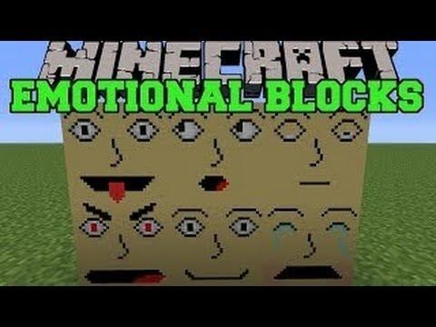 Блоки с Эмоциями (Emotional Blocks Mod) - Обзор модов Minecraft # 76