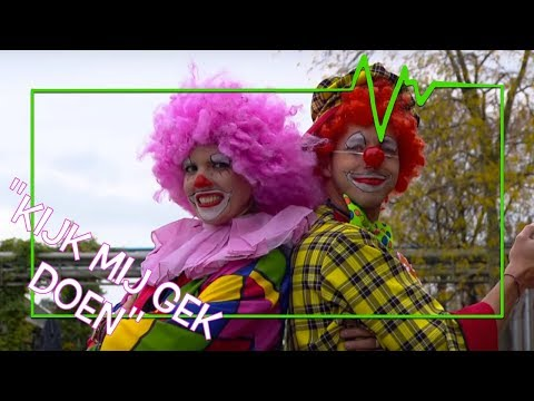 RACHEL & ELBERT ZIJN CLINI CLOWNS! - TOPDOKS EXTRA