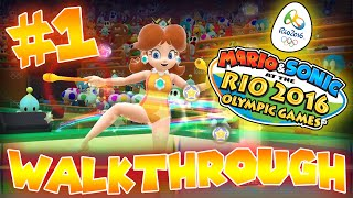 ABM: Mario & Sonic Rio 2016 Olympics Games!! Walkthrough!! HD