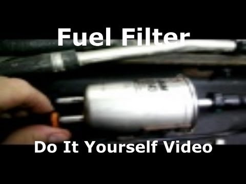 ford fuel filter replacement change  how to do it yourself