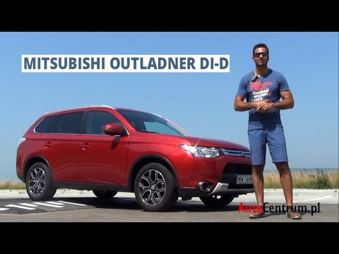 [PL] Mitsubishi Outlander 2.2 DI-D 150 KM, 2014 - test AutoCentrum.pl