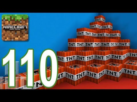 Minecraft: PE - Gameplay Walkthrough Part 110 - Find The Button: Redstone Edition (iOS, Android)