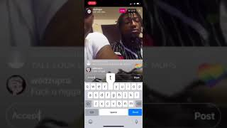 Person that killed X. He admits it live on Instagram live!!!! RIP Xxxtentacion