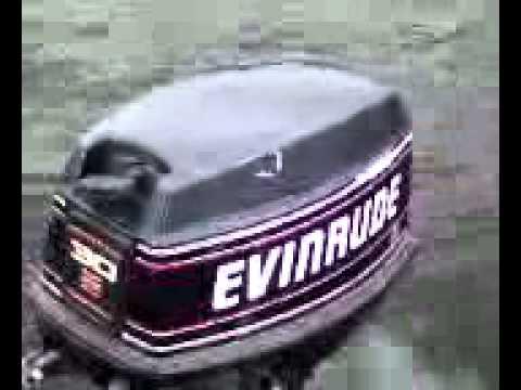 1993 Evinrude 30 Hp Tiller Manual Start Long Shaft Youtube