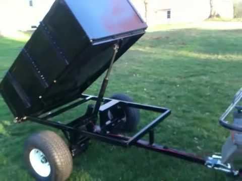 Homemade Lawn Mower Trailer Garden Cart