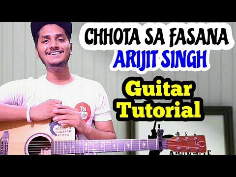 Download Lagu  Chota sa fasana - Arijit singh - Easy guitar chord lesson, Beginner guitar tutorial Mp3 Free