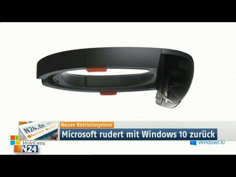 HoloLens: Microsoft präsentiert Hologramm-Brille