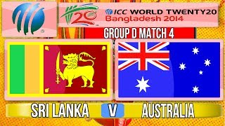 (Cricket Game) ICC T20 World Cup 2014 - Sri Lanka v Australia Group D Match 4