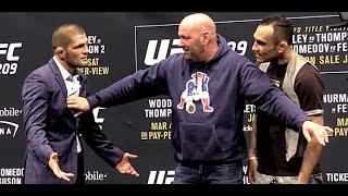 UFC 209 Intense Face-Offs: Woodley vs. Thompson and Nurmagomedov vs. Ferguson