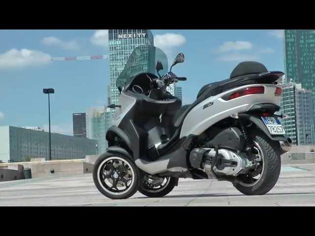 Vid�o Essai Piaggio MP3 500ie LT ABS-ASR : Coup dur pour la concurrence !