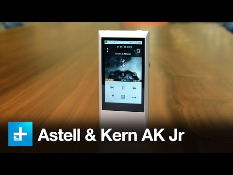 Astell & Kern AK Jr Hi-Res Music Player - Hands on Review