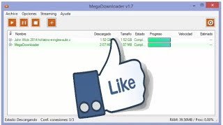 COMO DESCARGAR EN MEGA SIN LIMITES 2017  Mega Downloader( Portable)