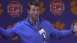TigerNet: Swinney recalls rivalry memories