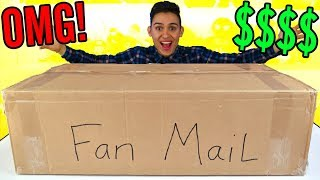 GIANT PO BOX FAN MAIL PRESENTS - Surprise -  Candy Opening