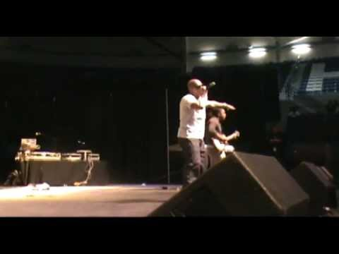 D.T. The Great Opening Up For Melanie Fiona, Ace Hood, Trina, Big K.R.I.T. & YG at HU Spring Fest Concert [User Submitted]