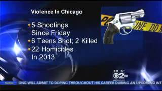 CHICAGO: 22 Murders in 11 Days with 2 Teens Dead