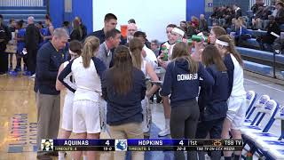 High School Girls Basketball: La Crosse Aquinas vs. Hopkins