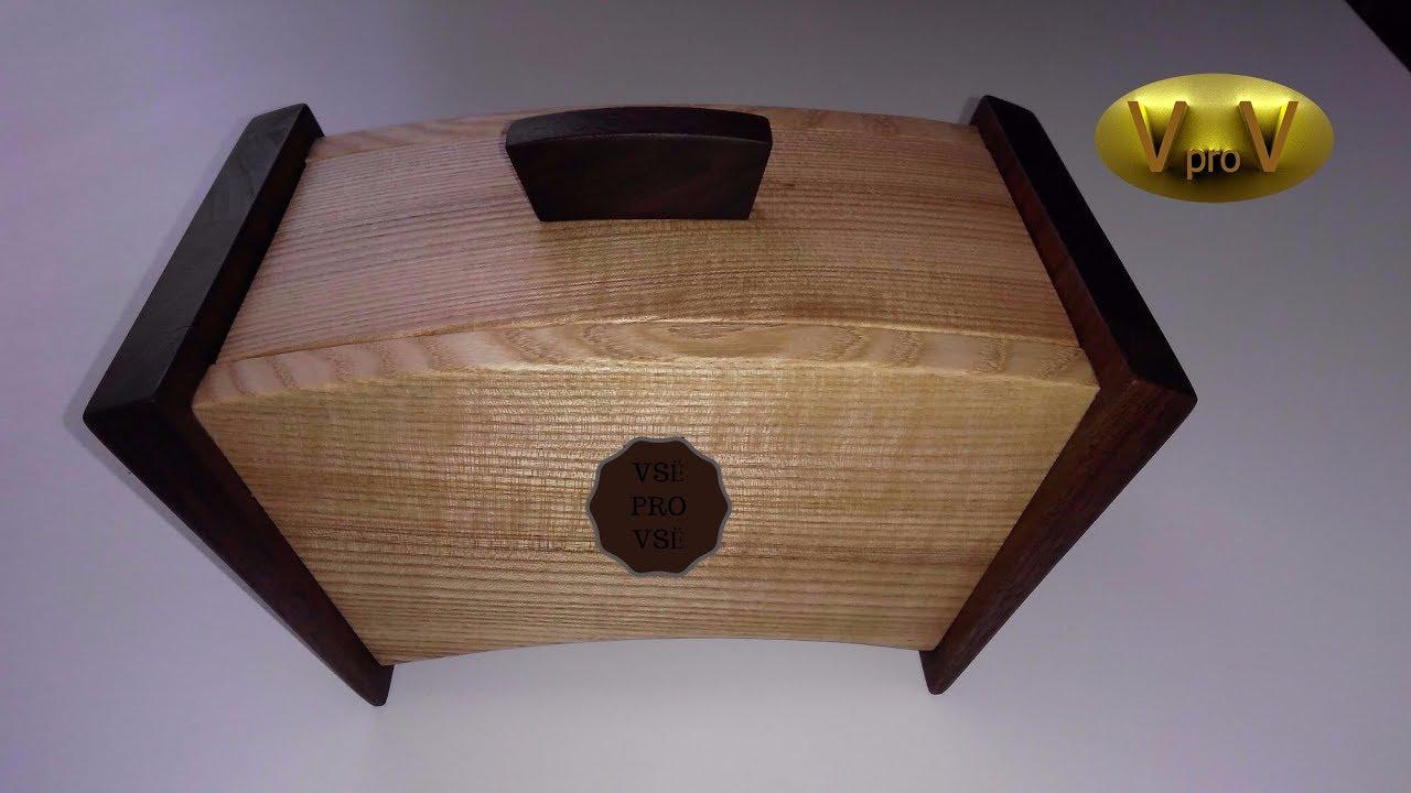 Шкатулки из древесины своими руками 8