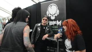 Escape the Fate TBFM Interview Download Festival 2016