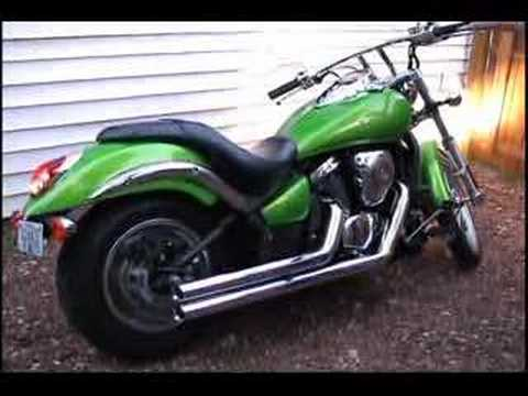 Kawasaki Vulcan 900 Custom Video