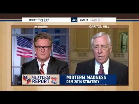 Hoyer Discusses the House Republican Budget and the Affordable Care Act on MSNBC's